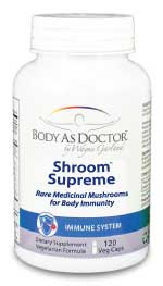 Shroom Supreme - Medicinal Mushrooms for Total Body Immunity