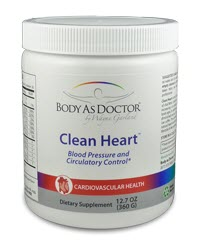 Clean Heart L-Arginine Natural Blood Pressure Formula
